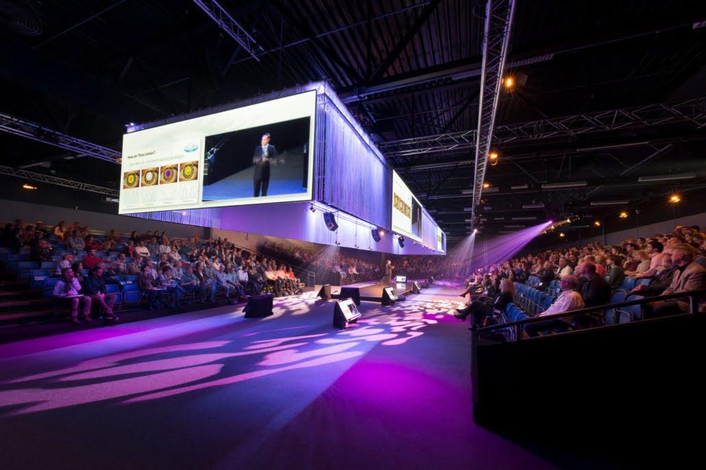 Congres met Arena setting