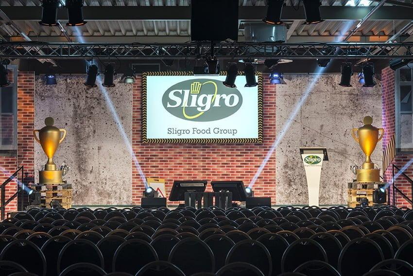Sligro congres decor