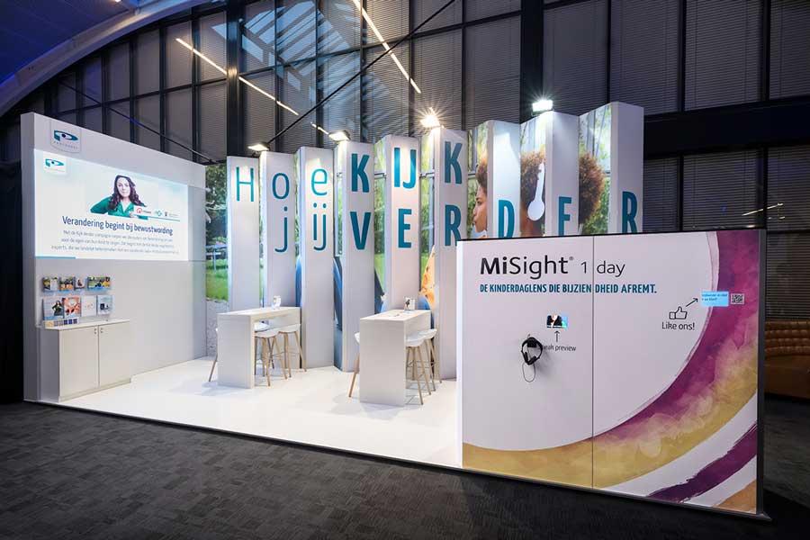 duurzame, modulaire Standbouw LED wall Den Bosch