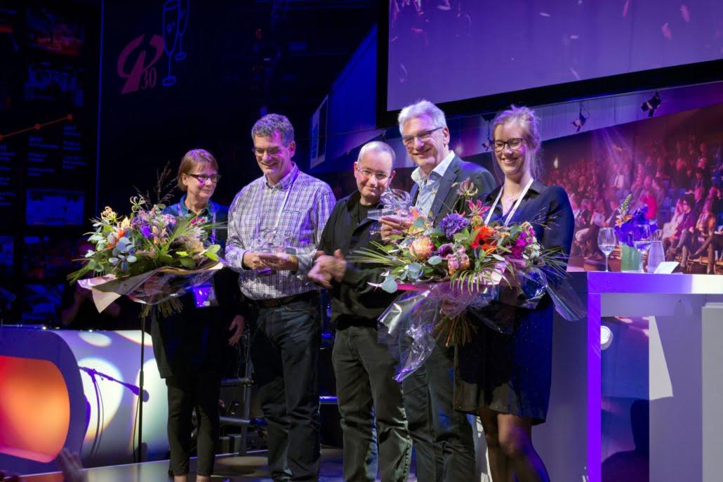 zakelijk evenement award uitreiking jubileum